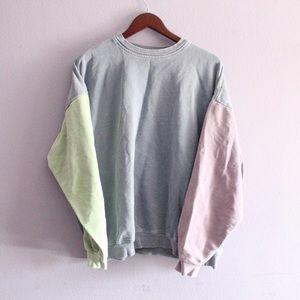 Vintage 90s Colorblock Pullover